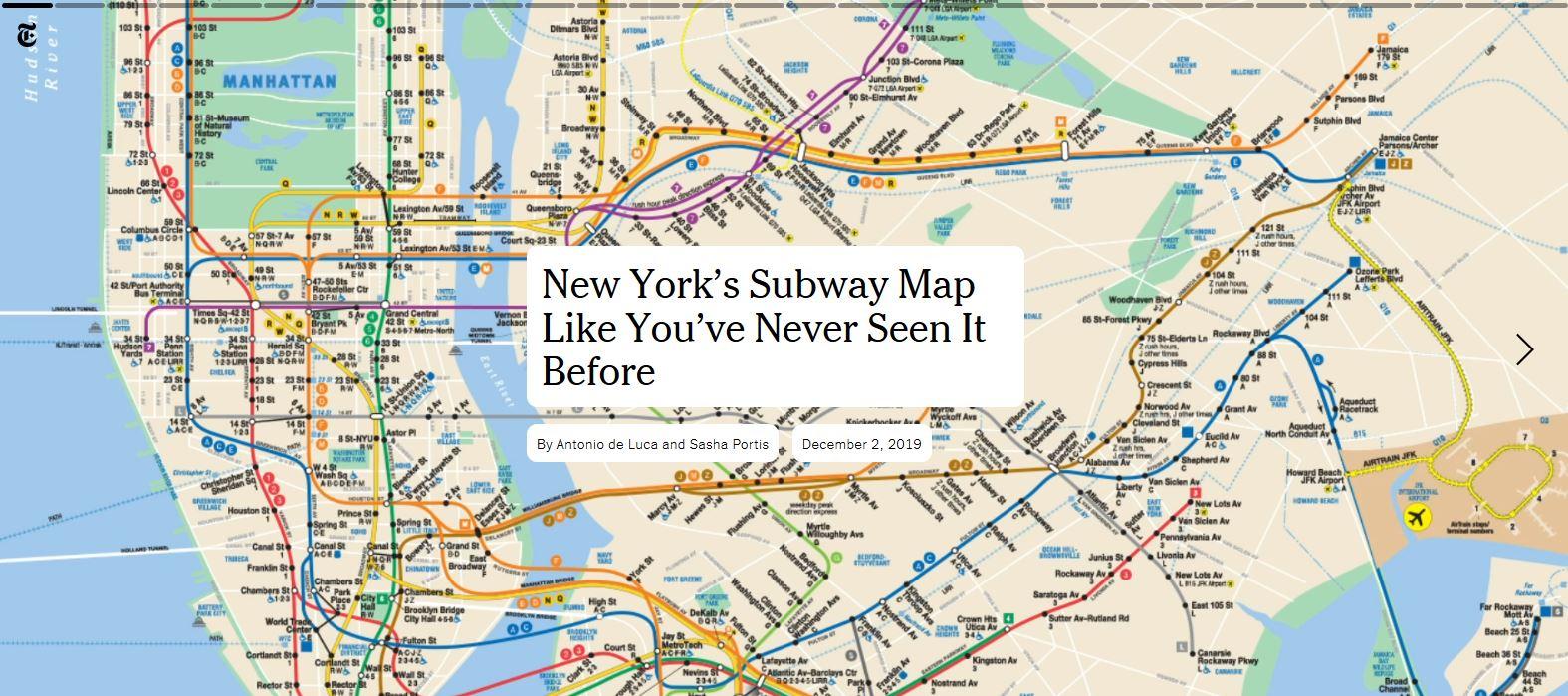 Carte Metro New York Un Metro Une Carte Une Histoire