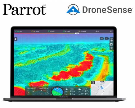 Parrot DroneSense
