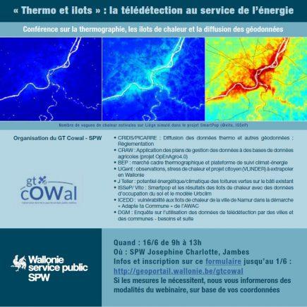 Webinaire Thermo et ilots : la télédétection au service de l'énergie
