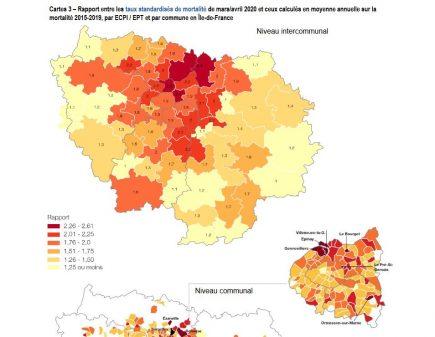 surmortalité Ile-de-France