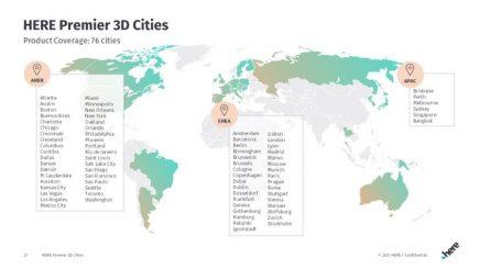 HERE Premier 3D Cities