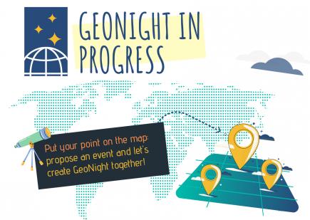 Nuit de la géographie (Geonight) @ partout dans le monde